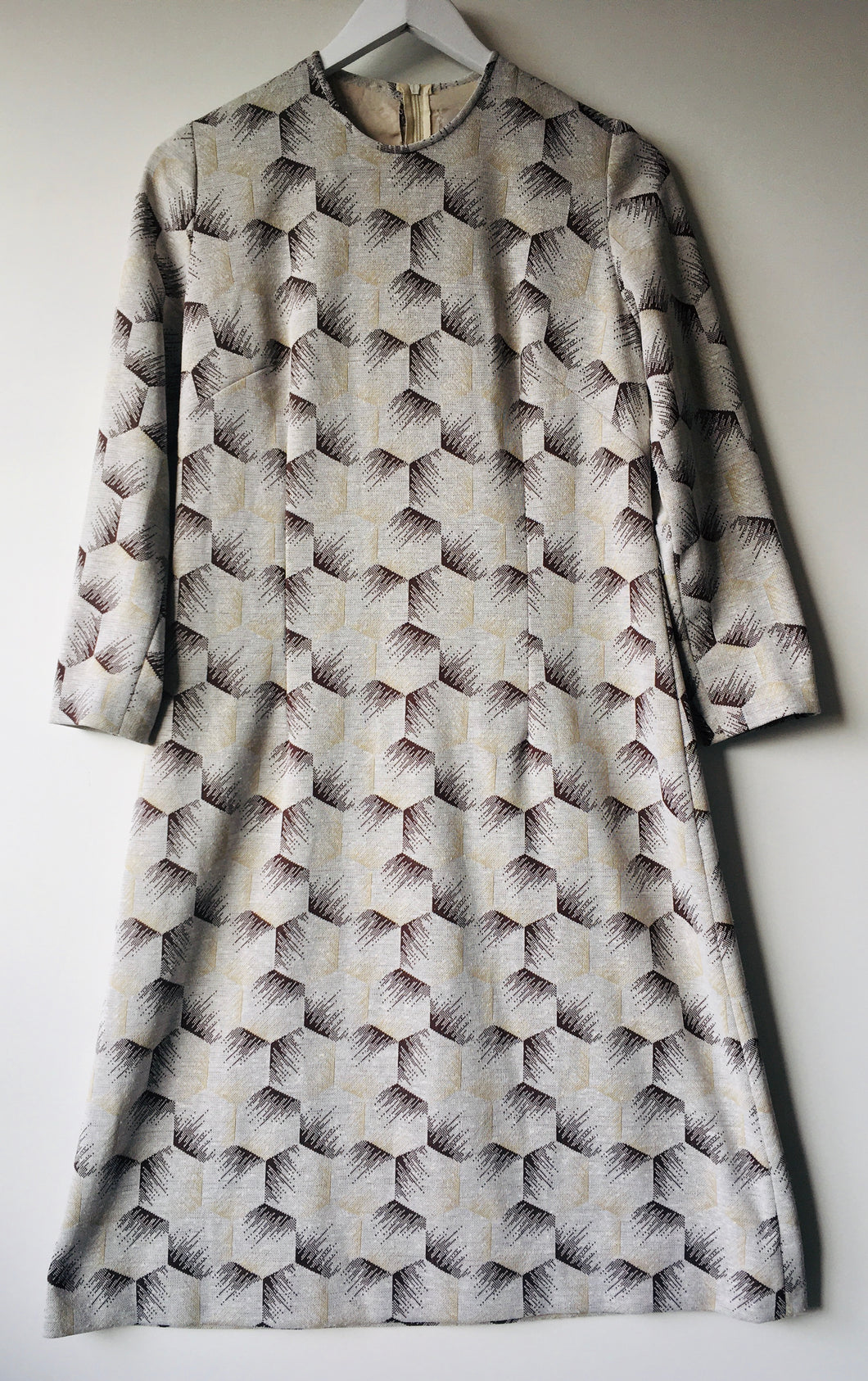 1960s vintage shift dress S/M