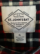 Load image into Gallery viewer, Check flannel shirt by St. John's Bay XL