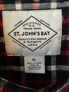 Check flannel shirt by St. John's Bay XL