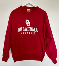 Load image into Gallery viewer, Oklahoma Sooners college sweatshirt
