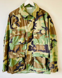US army camouflage shirt M/L