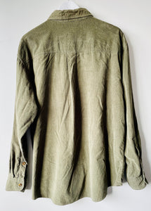 Olive green corduroy shirt by Woolrich L