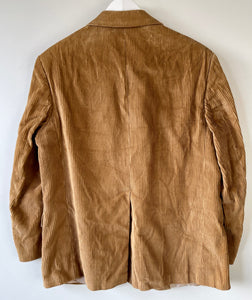 Brown corduroy blazer/jacket M
