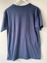 Load image into Gallery viewer, Navy blue James pre-worn ladies Tee shirt L