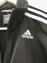 Load image into Gallery viewer, Black Adidas track jacket M