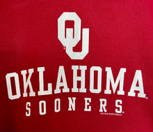 Load image into Gallery viewer, Oklahoma Sooners college football unisex jumper sweatshirt S/M