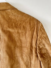 Load image into Gallery viewer, Thick corduroy brown vintage blazer M