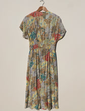 Load image into Gallery viewer, 1980s tea dress L