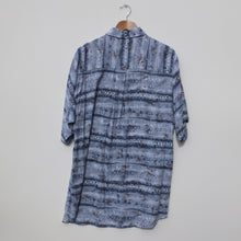 Load image into Gallery viewer, Hawaiian shirt blue Finnigan XL