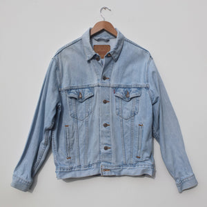 Pale Blue Levi Jacket