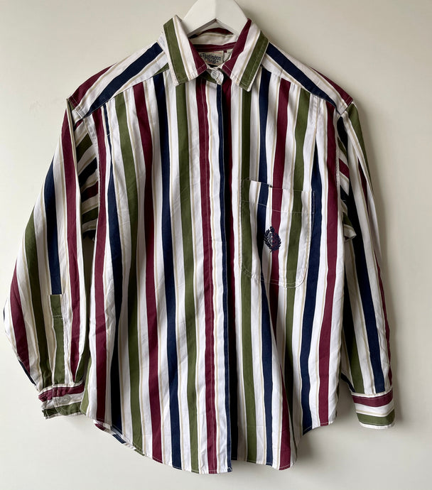 Men's striped shirt S
