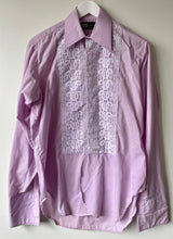 Load image into Gallery viewer, Lilac vintage dress shirt S/M