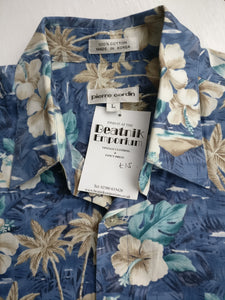 Hawaiian shirt Pierre Cardin L
