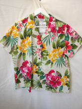Load image into Gallery viewer, Hawaiian blouse