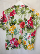 Load image into Gallery viewer, Hawaiian 90s blouse L XL