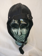 Load image into Gallery viewer, Black flying helmet one size