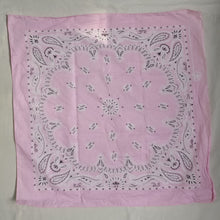 Load image into Gallery viewer, Pale pink bandana