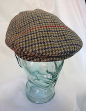 Load image into Gallery viewer, Flat cap tweed style M