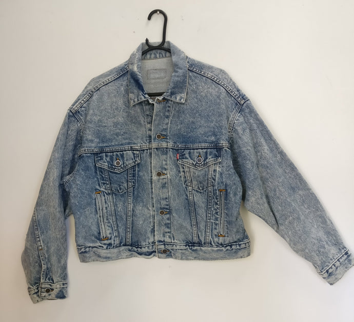 Levi acid wash denim jacket