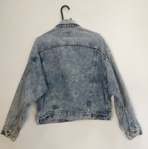 Levi marble/acid wash 1980s jacket