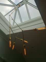 Ceiling Brass Light