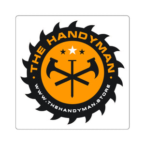 The Handyman Square Sticker