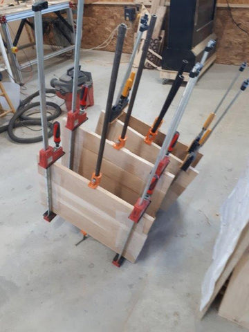 Clamped up panels