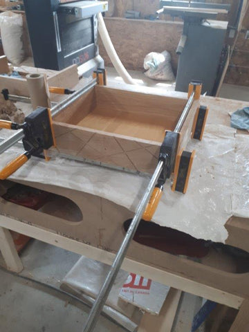 Drawer glue up