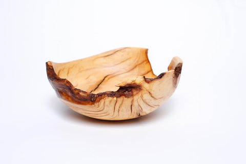 Live edge burl bowl