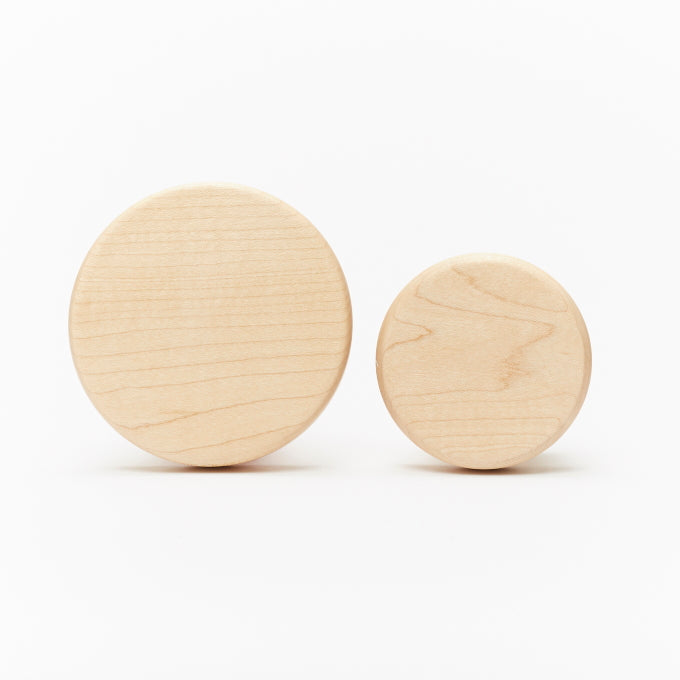 Wooden Maple Wall Hooks - Both sizes - Tiny Tree Wood Co
