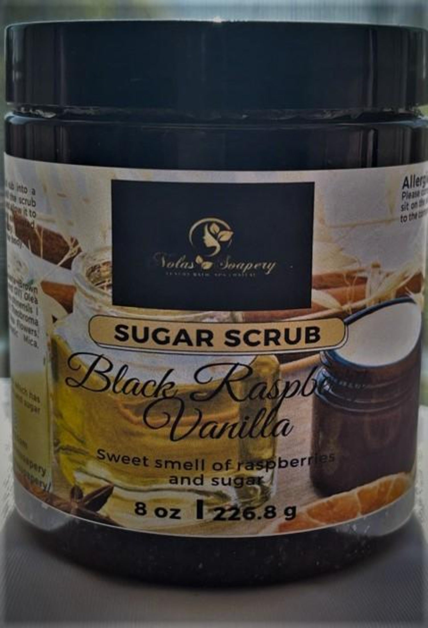 All Natural Organic Sugar Scrubs