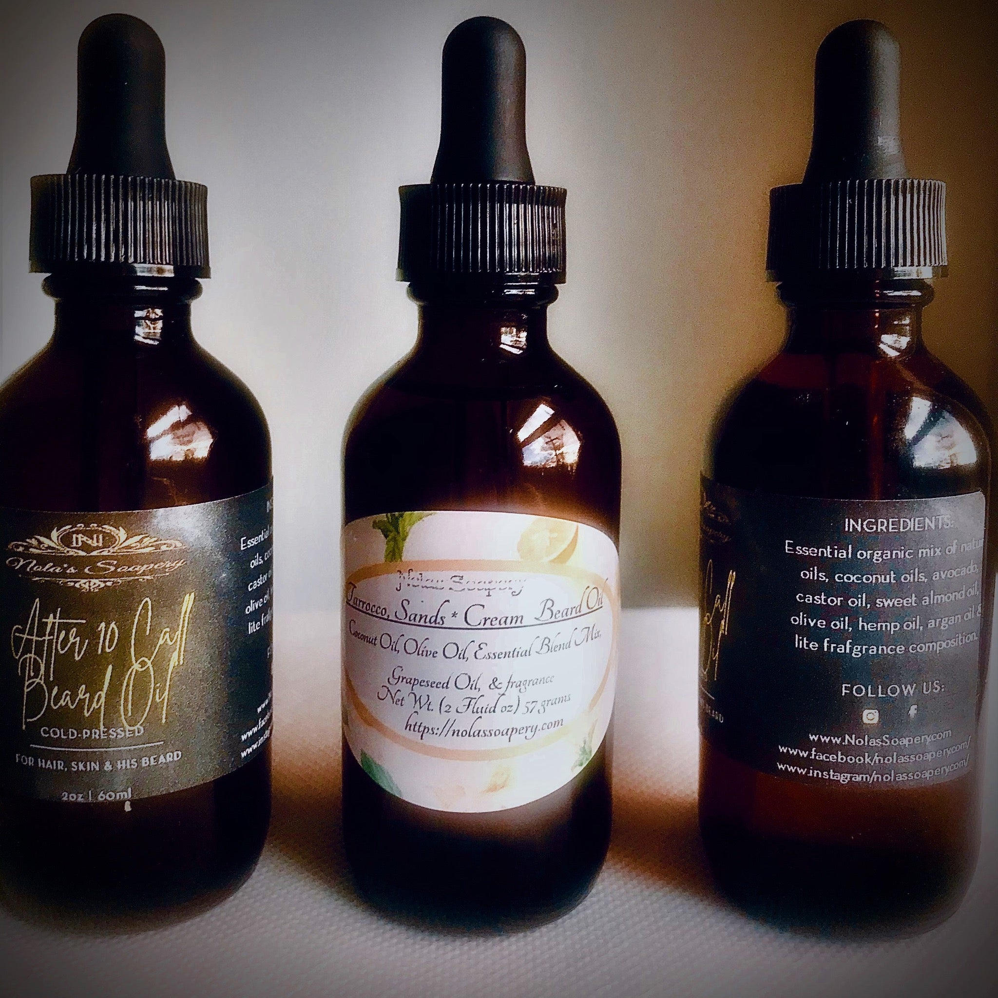 Beard Care Essential Oil