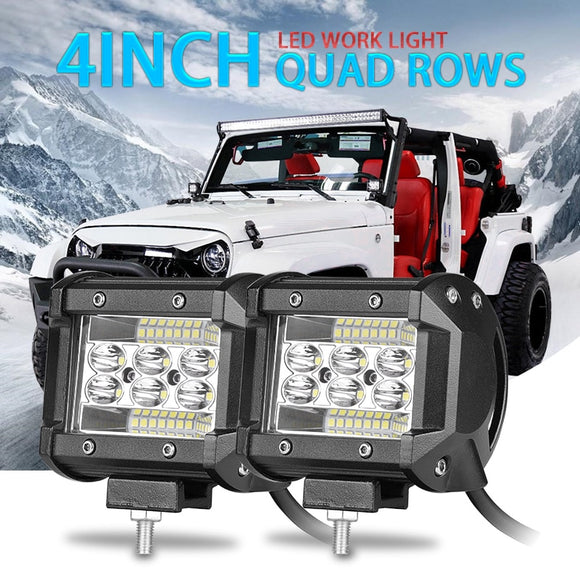 Farol de LED 2pcs para Off road -  60W