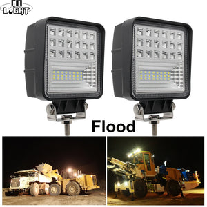 CO LIGHT Off Road Work Light 63W Flood 4.3'' Led Fog Lights for Auto ATV Jeep Tractor Truck SUV Boat Led 12V 24V 4X4 Accessories