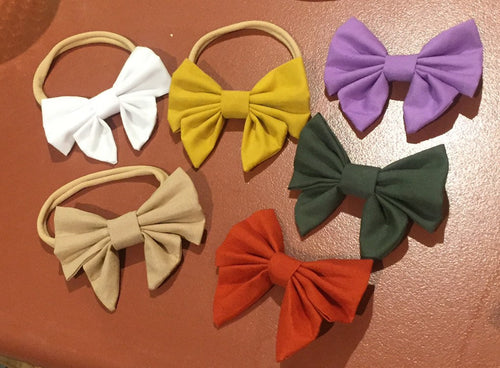 Sailor bows