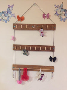 Fully custom bow holder