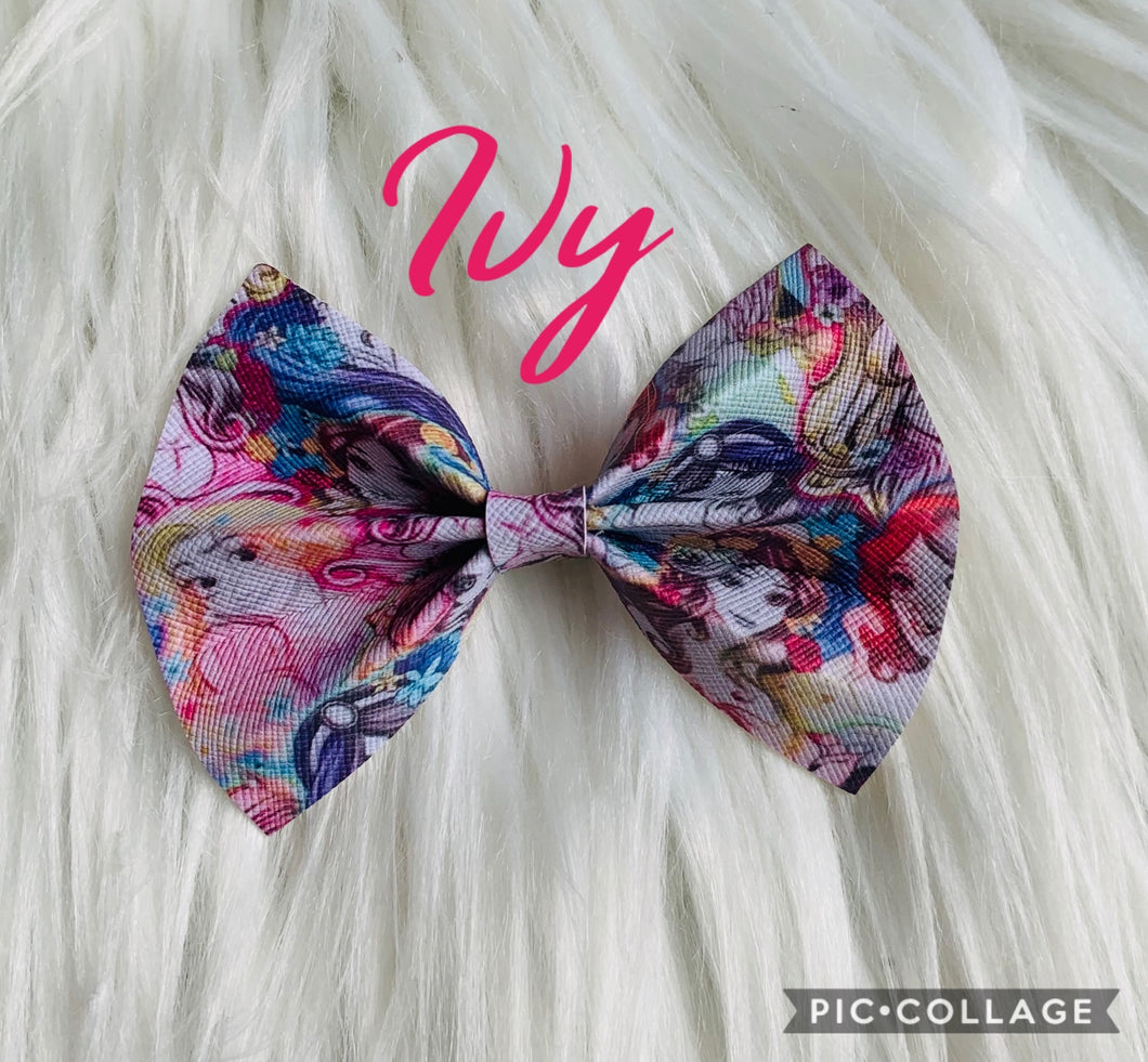 Ivy bow (Leave a note for clip or band)