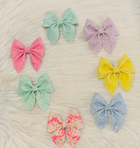 Lace sailor bows (4 inch)