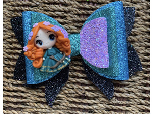 Custom triple layer bow (no clay) (leave not for color)