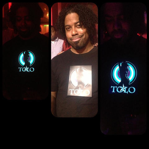 LED LIGHT UP TOLO STARS SHIRTS LADIES