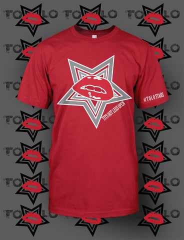 KISS THE STAR - Red Tee