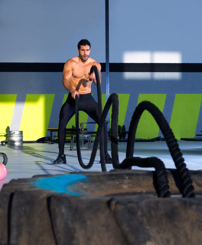 12 Crazy Battle Rope Exercises for High-Intensity Interval Training