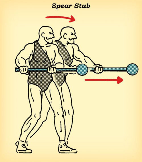 Try The Ancient Mace Spear Stab Workout