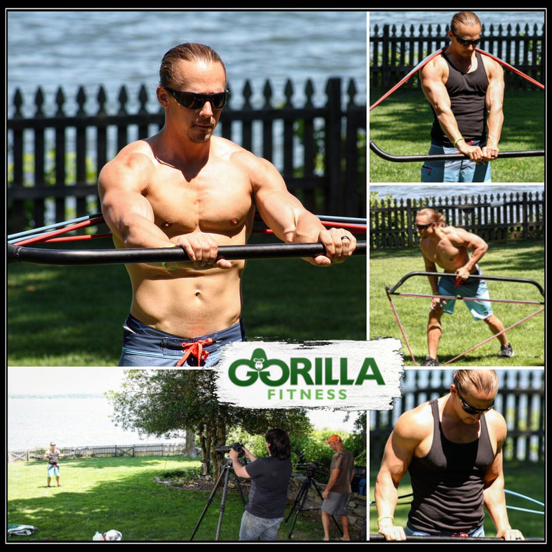 Gorilla Bow Home Gym - Full Body Workout