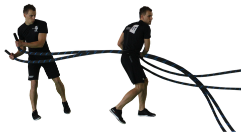 Grappler Hip Toss Battle Rope