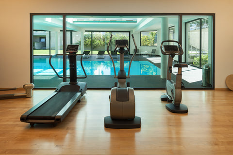 use the hotel gym when traveling