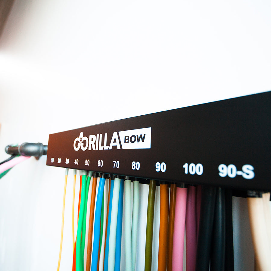 Close-up of Gorilla Bow Band Rack