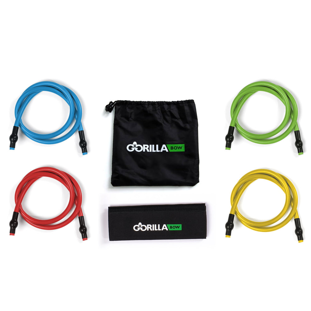 Gorilla Bow Wrap and Bands in assorted colors with carrying pouch