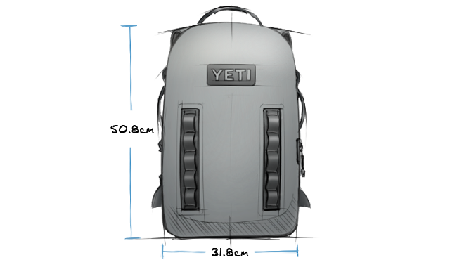 Panga 28 Submersible Backpack Exterior
