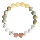 Balancing Energy Mix  Gemstone Mix Bracelet
